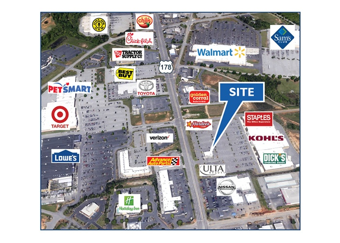For Sale, ,Retail,For Sale,3518 Clemson Blvd,1074